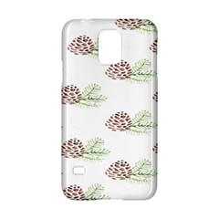 Pinecone Pattern Samsung Galaxy S5 Hardshell Case  by Mariart