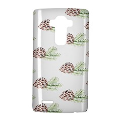 Pinecone Pattern Lg G4 Hardshell Case by Mariart