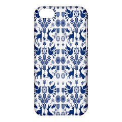 Rabbits Deer Birds Fish Flowers Floral Star Blue White Sexy Animals Apple Iphone 5c Hardshell Case by Mariart