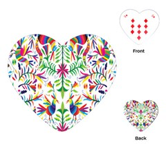 Peacock Rainbow Animals Bird Beauty Sexy Playing Cards (heart)  by Mariart