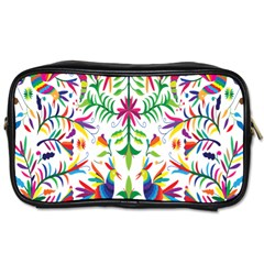 Peacock Rainbow Animals Bird Beauty Sexy Toiletries Bags by Mariart
