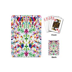 Peacock Rainbow Animals Bird Beauty Sexy Playing Cards (mini)  by Mariart
