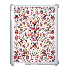 Peacock Rainbow Animals Bird Beauty Sexy Flower Floral Sunflower Star Apple Ipad 3/4 Case (white) by Mariart