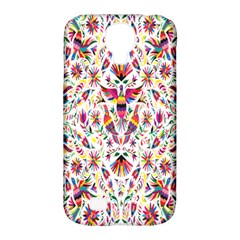 Peacock Rainbow Animals Bird Beauty Sexy Flower Floral Sunflower Star Samsung Galaxy S4 Classic Hardshell Case (pc+silicone) by Mariart