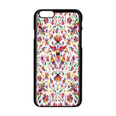 Peacock Rainbow Animals Bird Beauty Sexy Flower Floral Sunflower Star Apple Iphone 6/6s Black Enamel Case by Mariart