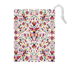 Peacock Rainbow Animals Bird Beauty Sexy Flower Floral Sunflower Star Drawstring Pouches (extra Large) by Mariart