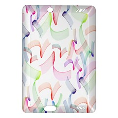 Rainbow Green Purple Pink Red Blue Pattern Zommed Amazon Kindle Fire Hd (2013) Hardshell Case by Mariart