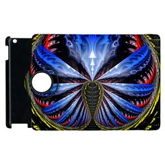 Illustration Robot Wave Apple Ipad 3/4 Flip 360 Case by Mariart
