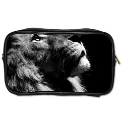 Male Lion Face Toiletries Bags 2 Side by Zhezhe