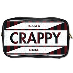 Reality Is Just A Crappy Boring Game Toiletries Bags 2 Side by Zhezhe