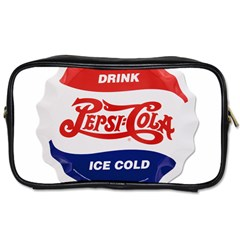 Pepsi Cola Bottle Cap Style Metal Toiletries Bags 2 Side by Zhezhe