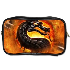 Dragon And Fire Toiletries Bags 2 Side by Zhezhe