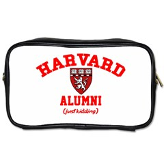 Harvard Alumni Just Kidding Toiletries Bags 2 Side by Zhezhe