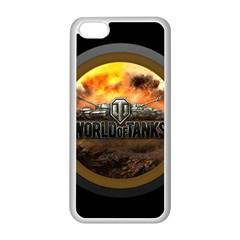 World Of Tanks Wot Apple Iphone 5c Seamless Case (white) by Zhezhe