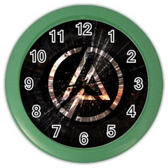 Linkin Park Logo Band Rock Color Wall Clocks by Zhezhe