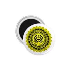 Bassnectar Sunflower 1 75  Magnets by Zhezhe