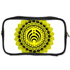 Bassnectar Sunflower Toiletries Bags 2 Side by Zhezhe