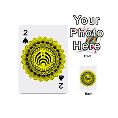 Bassnectar Sunflower Playing Cards 54 (mini)  by Zhezhe