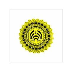 Bassnectar Sunflower Small Satin Scarf (square) by Zhezhe