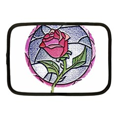 Beauty And The Beast Rose Netbook Case (medium)  by Zhezhe
