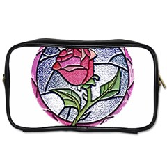 Beauty And The Beast Rose Toiletries Bags 2 Side by Zhezhe