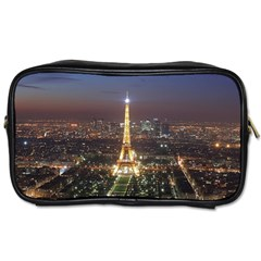 Paris At Night Toiletries Bags 2 Side by Zhezhe