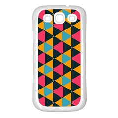 Triangles Pattern                     Samsung Galaxy S7710 Xcover 2 Hardshell Case