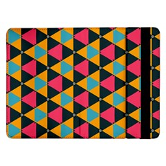 Triangles Pattern                     Samsung Galaxy Tab Pro 10 1  Flip Case by LalyLauraFLM