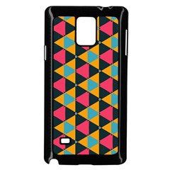 Triangles Pattern                     Samsung Galaxy Note 4 Case (color) by LalyLauraFLM