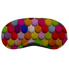 Colorful Tiles Pattern                           Sleeping Mask by LalyLauraFLM
