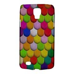 Colorful Tiles Pattern                     Samsung Galaxy Ace 3 S7272 Hardshell Case by LalyLauraFLM