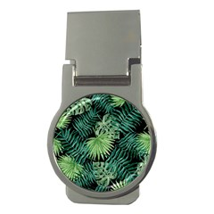 Tropical Pattern Money Clips (round)  by ValentinaDesign