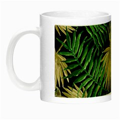 Tropical Pattern Night Luminous Mugs by ValentinaDesign