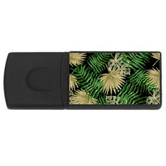Tropical Pattern Rectangular Usb Flash Drive by ValentinaDesign