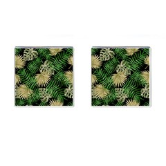 Tropical Pattern Cufflinks (square) by ValentinaDesign