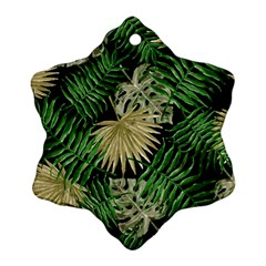 Tropical Pattern Ornament (snowflake) by ValentinaDesign