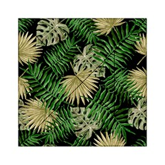 Tropical Pattern Acrylic Tangram Puzzle (6  X 6 ) by ValentinaDesign