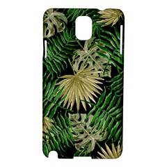 Tropical Pattern Samsung Galaxy Note 3 N9005 Hardshell Case by ValentinaDesign
