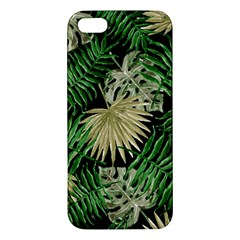 Tropical Pattern Iphone 5s/ Se Premium Hardshell Case by ValentinaDesign