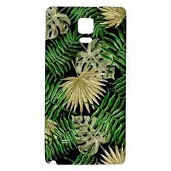 Tropical Pattern Galaxy Note 4 Back Case by ValentinaDesign