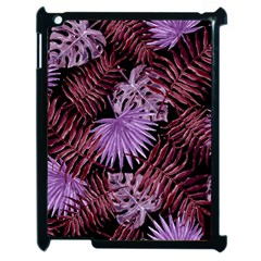 Tropical Pattern Apple Ipad 2 Case (black) by ValentinaDesign