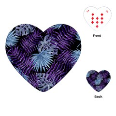 Tropical Pattern Playing Cards (heart)  by ValentinaDesign