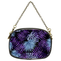 Tropical Pattern Chain Purses (two Sides)  by ValentinaDesign
