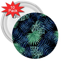 Tropical Pattern 3  Buttons (10 Pack)  by ValentinaDesign