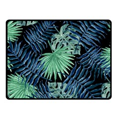 Tropical Pattern Fleece Blanket (small) by ValentinaDesign