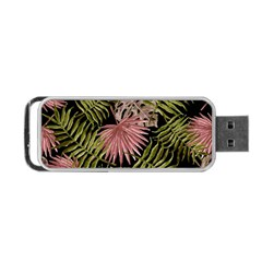 Tropical Pattern Portable Usb Flash (two Sides) by ValentinaDesign