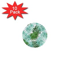 Tropical Pattern 1  Mini Buttons (10 Pack)  by ValentinaDesign