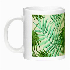 Tropical Pattern Night Luminous Mugs by ValentinaDesign