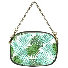 Tropical Pattern Chain Purses (one Side)  by ValentinaDesign