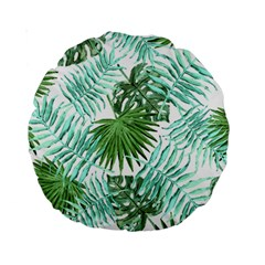 Tropical Pattern Standard 15  Premium Round Cushions by ValentinaDesign